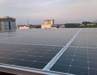 Hệ thống điện mặt trời hòa lưới 20kW cho tòa nhà tại Tây Ninh